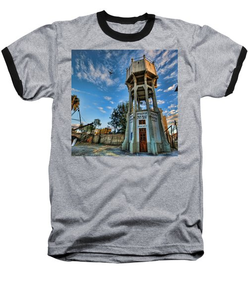The Old Water Tower Of Tel Aviv Baseball T-Shirt