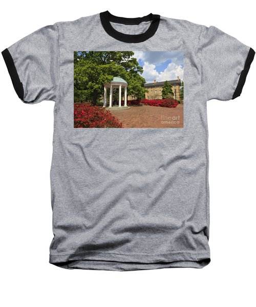 The Old Well At Chapel Hill Campus Baseball T-Shirt