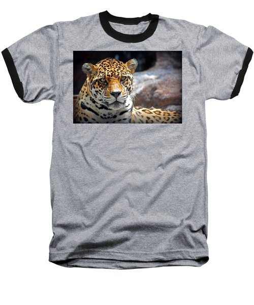 Baseball T-Shirt featuring the photograph The Ole Leopard Don't Change His Spots by Lynn Sprowl