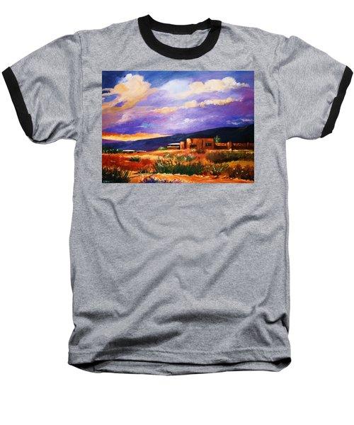 The Orange Glow Of Sunset Baseball T-Shirt