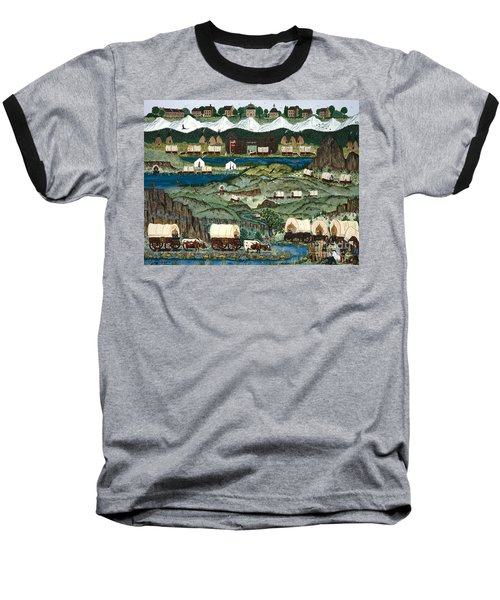 The Oregon Trail Baseball T-Shirt