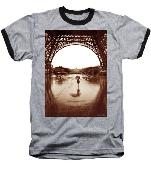 The Other Face Of Paris Baseball T-Shirt