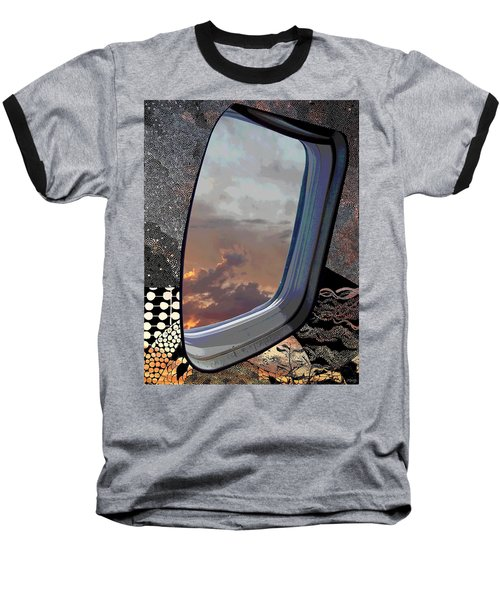 Baseball T-Shirt featuring the digital art The Other Side Of Natural by Glenn McCarthy Art and Photography