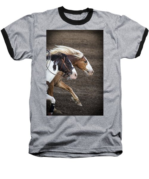 The Outlaw And The Law Baseball T-Shirt