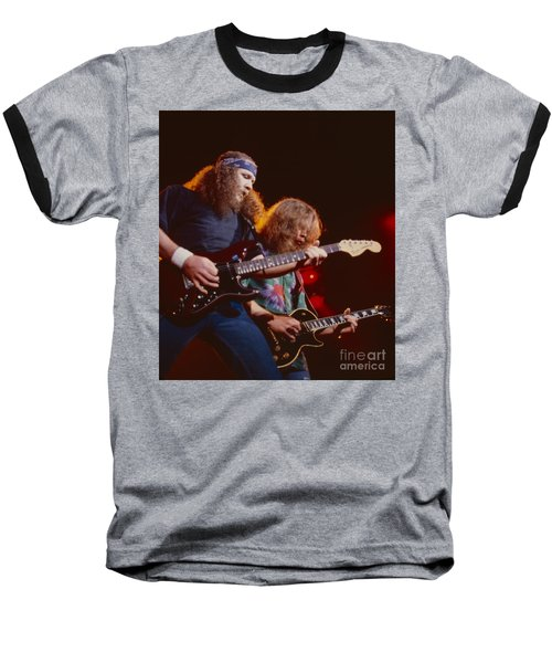 The Outlaws - Hughie Thomasson And Billy Jones Baseball T-Shirt