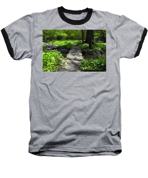 The Painted Forest From The Series The Imprint Of Man In Nature Baseball T-Shirt