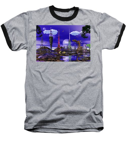 Baseball T-Shirt featuring the photograph The Palace Of Prax by Mark Blauhoefer