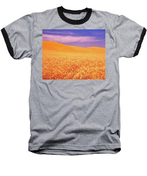 The Palouse Steptoe Butte Baseball T-Shirt