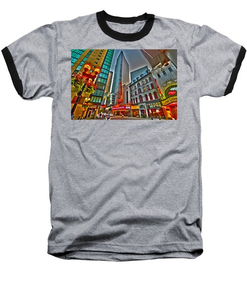 The Paramount Center And Opera House In Boston Baseball T-Shirt