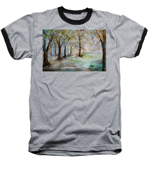 The Park Bench Baseball T-Shirt