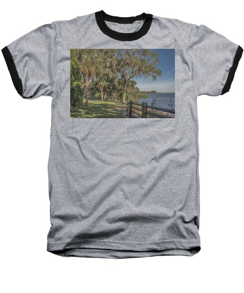Baseball T-Shirt featuring the photograph The Park by Jane Luxton