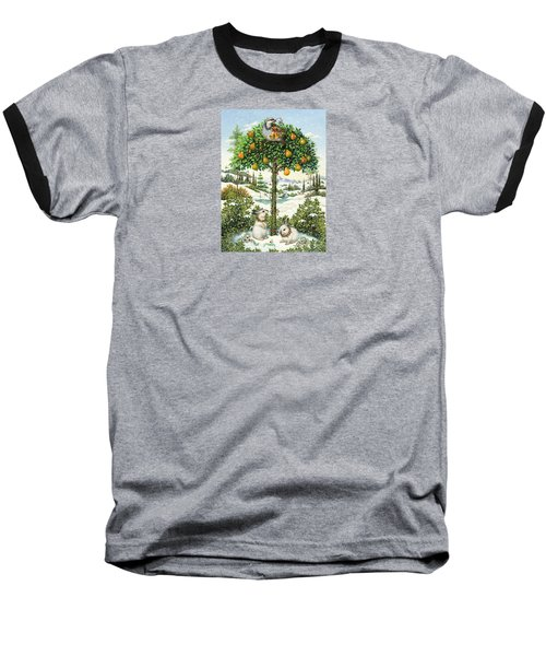 The Partridge In A Pear Tree Baseball T-Shirt