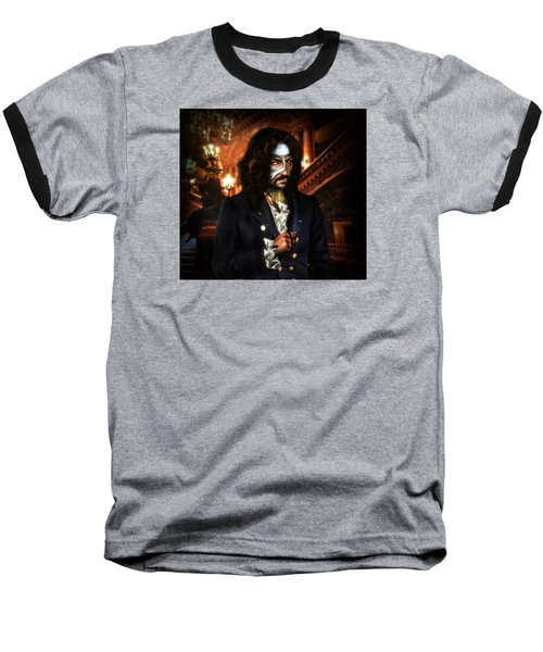 The Phantom Of The Opera Baseball T-Shirt by Alessandro Della Pietra