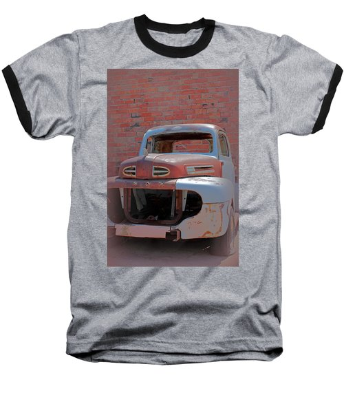 Baseball T-Shirt featuring the photograph The Pick Up by Lynn Sprowl