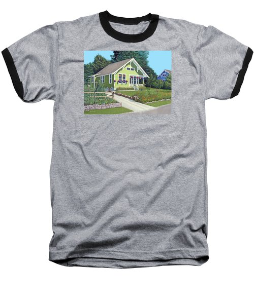 Our Neighbour's House Baseball T-Shirt by Gary Giacomelli