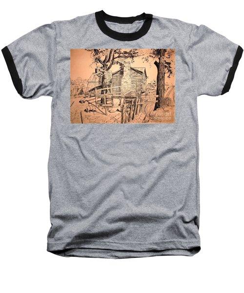 The Pig Sty Baseball T-Shirt