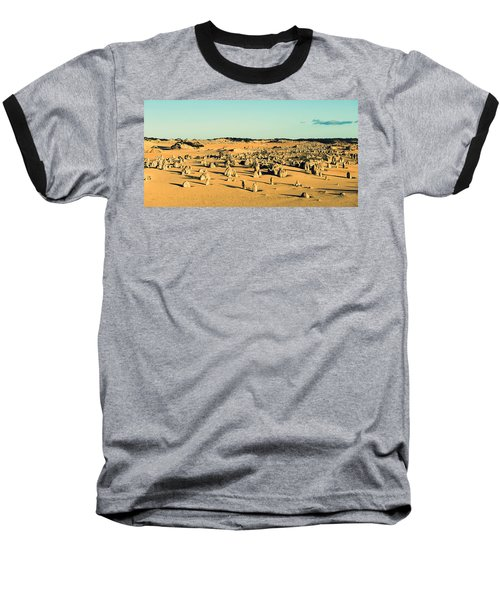 Baseball T-Shirt featuring the photograph The Pinnacles Australia by Yew Kwang