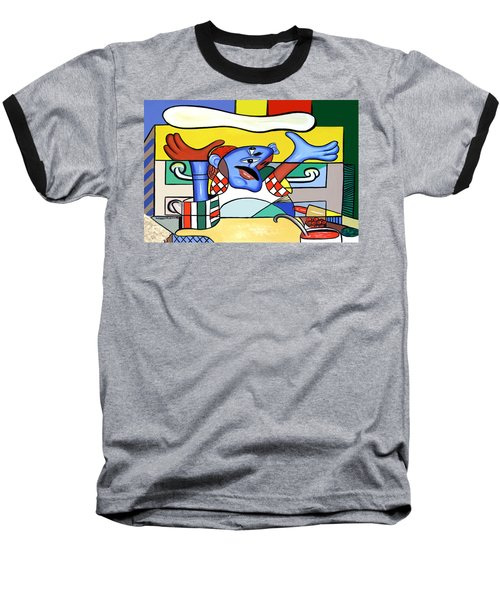 The Pizza Guy Baseball T-Shirt