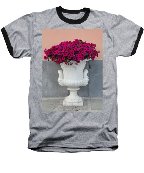 Baseball T-Shirt featuring the photograph The Planter by Natalie Ortiz
