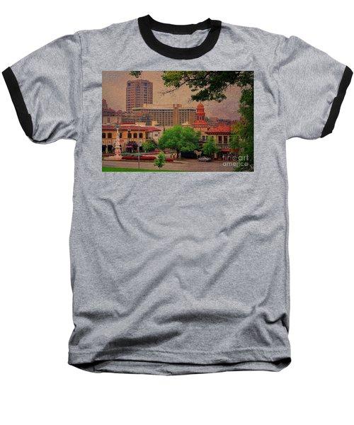 The Plaza - Kansas City Missouri Baseball T-Shirt