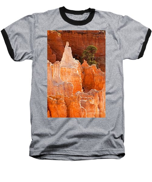 The Pope Sunrise Point Bryce Canyon National Park Baseball T-Shirt