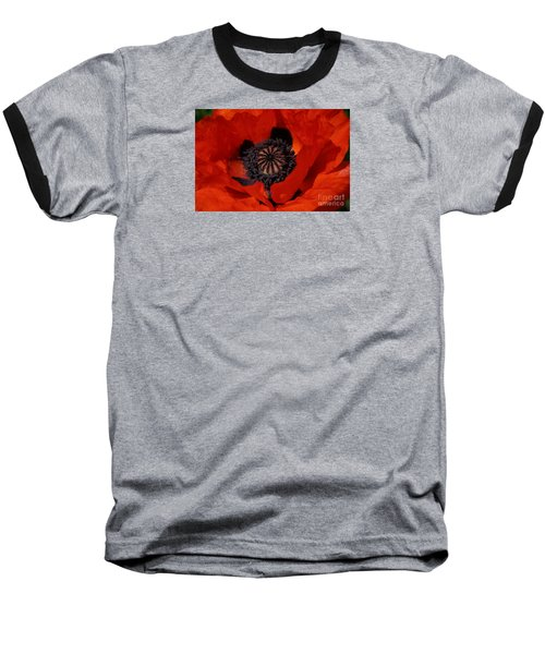 The Poppy Is Also A Flower Baseball T-Shirt