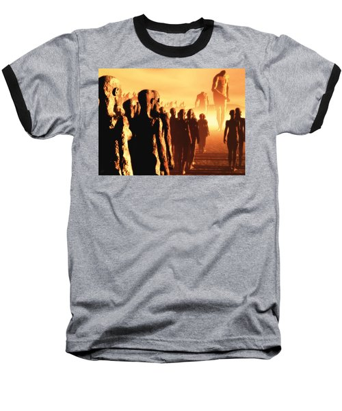 The Post Apocalyptic Gods Baseball T-Shirt