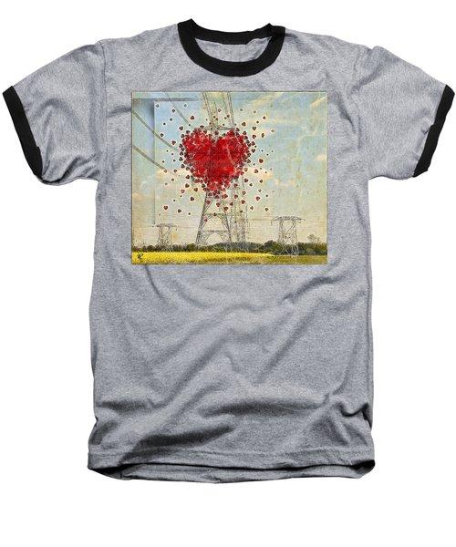 The Power Of Love Baseball T-Shirt