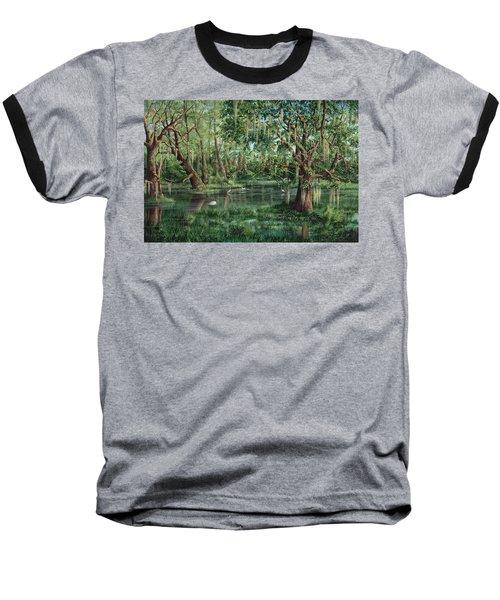 The Preacher And His Flock Baseball T-Shirt