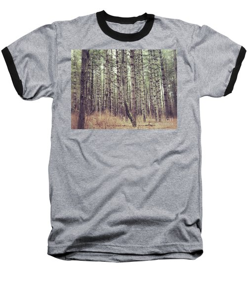 The Preaching Of The Pines Baseball T-Shirt by Kerri Farley