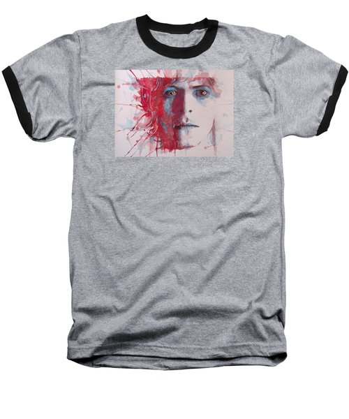The Prettiest Star Baseball T-Shirt by Paul Lovering