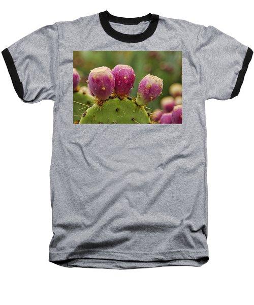 The Prickly Pear  Baseball T-Shirt by Saija  Lehtonen