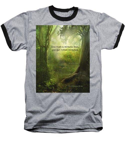The Princess Bride - Rotten Miracles Baseball T-Shirt