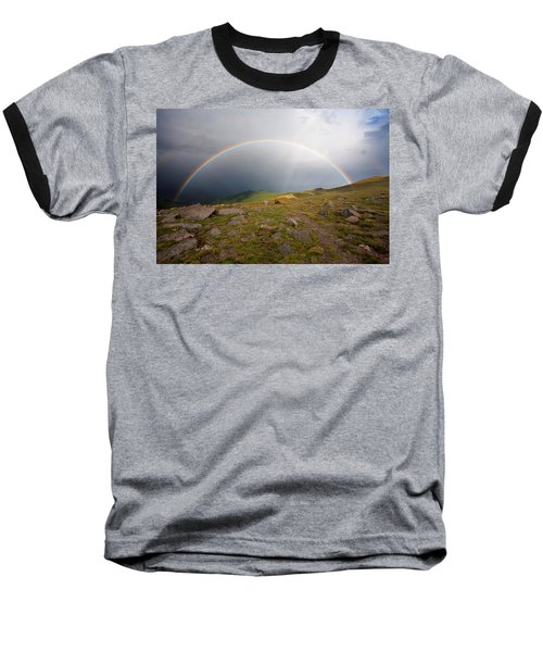 Baseball T-Shirt featuring the photograph The Promise by Jim Garrison