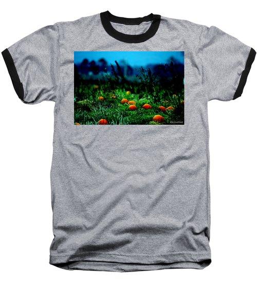 Baseball T-Shirt featuring the photograph The Pumpkin Patch by Lesa Fine