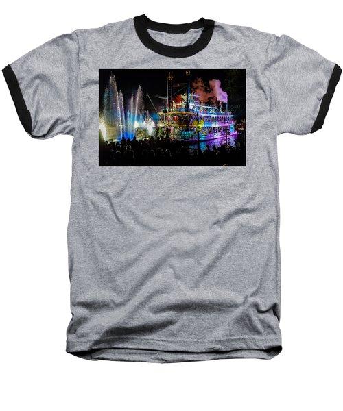 The Mark Twain Disneyland Steamboat  Baseball T-Shirt