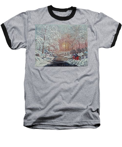 The Quest Begins Baseball T-Shirt by Anthony Lyon