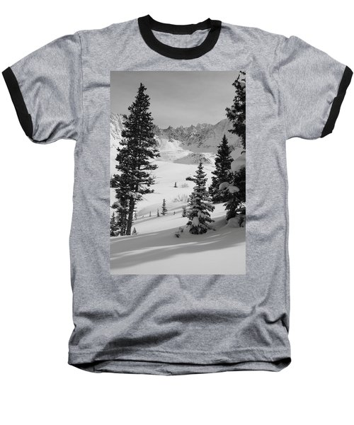 The Quiet Season Baseball T-Shirt by Eric Glaser