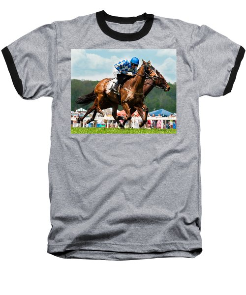 The Race Is On Baseball T-Shirt