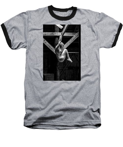 Baseball T-Shirt featuring the photograph The Rafter Ornament by Mez