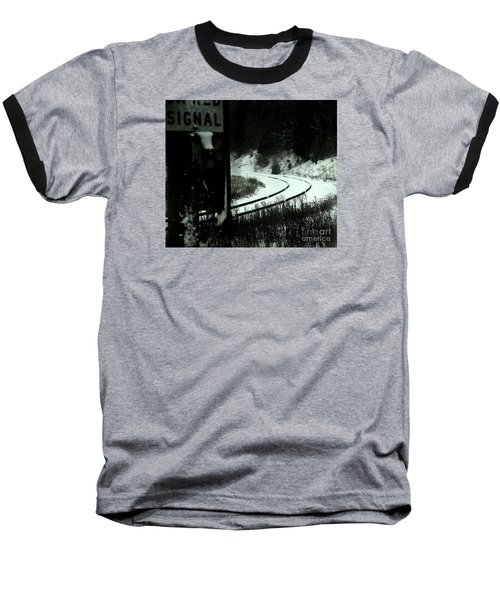 The Rail To Anywhere Baseball T-Shirt