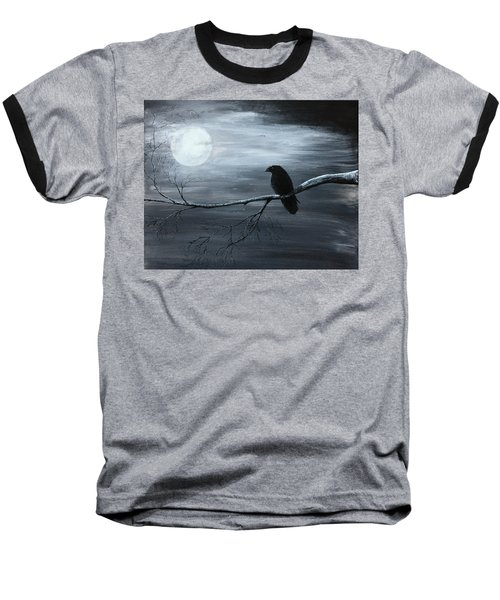 The Raven Piece 2 Of 2 Baseball T-Shirt