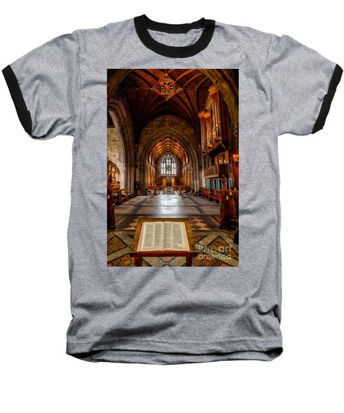 The Reading Room Baseball T-Shirt