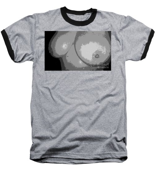 Gray Baseball T-Shirt by Alys Caviness-Gober