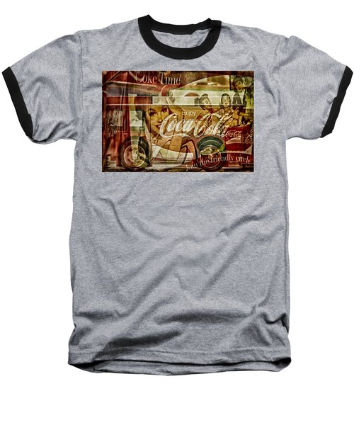The Real Thing Baseball T-Shirt by Susan Candelario