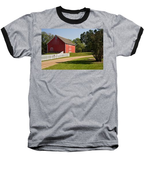 The Red Barn Baseball T-Shirt