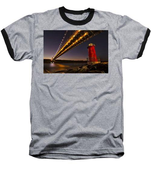 The Red Little Lighthouse Baseball T-Shirt