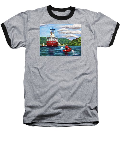 Out Kayaking Baseball T-Shirt