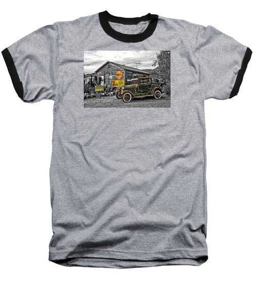 The Resting Place Baseball T-Shirt by I'ina Van Lawick