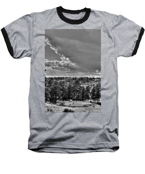 Baseball T-Shirt featuring the photograph The Ridge Golf Course by Ron White